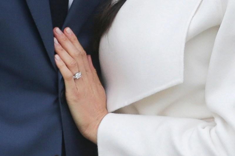 Large Of Meghan Markle Engagement Ring