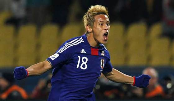 Man of the Match:  Japan got a great performance from Keisuke Honda.
