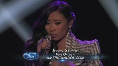 Jessica Sanchez - Stuttering (American Idol Top 7)