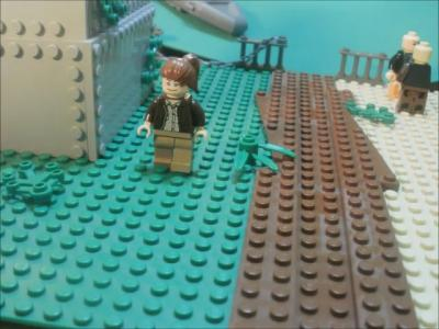 The Hunger Games Trailer in Lego Form