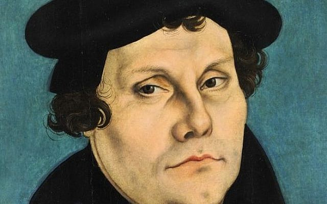 Norway church denounces Luther s anti Jewish writings   The Times of     Martin Luther  Lucas Cranach the Elder Wikipedia
