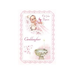 Luxurious Baptism Greeting Card Goddaughter Baptism Greeting Card Goddaughter Catholic Company Catholic Charities Cards Catholic Cards Sayings