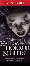 Halloween Horror Nights 18 Downloadable Guidemap