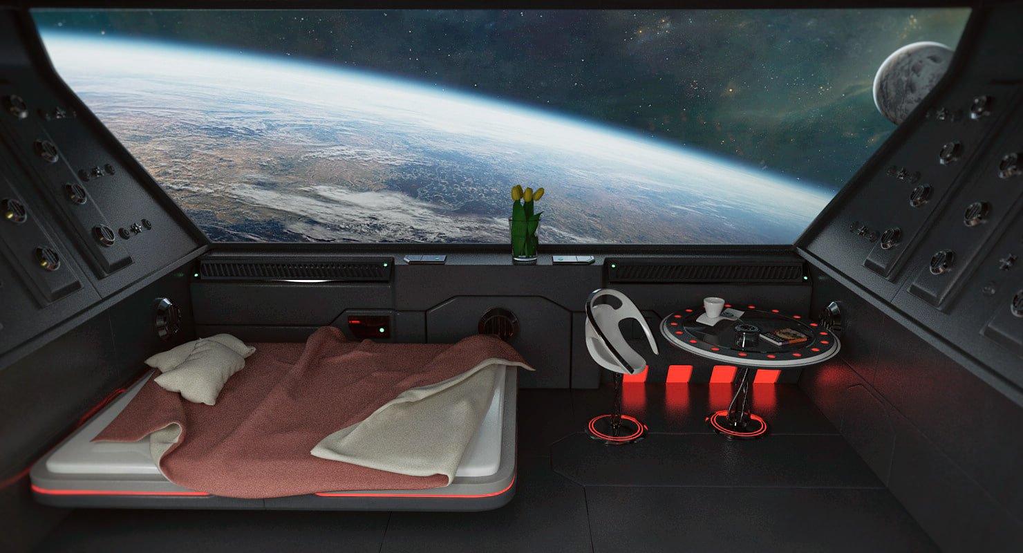 Fullsize Of Sci Fi Bedroom