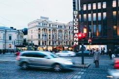 Helsinki Strassenblick