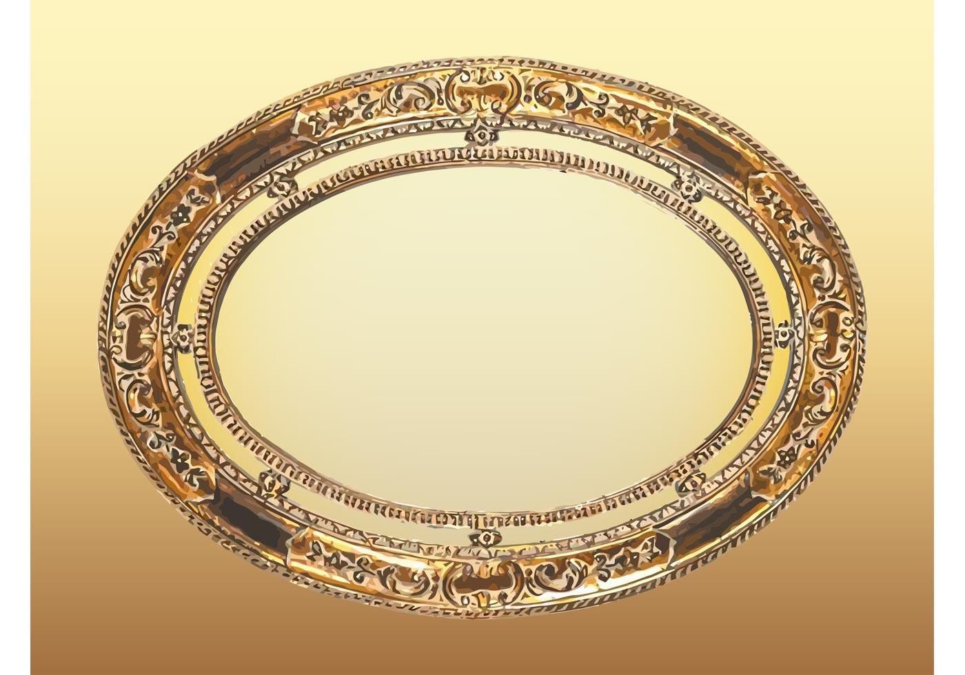 Fullsize Of Oval Picture Frame