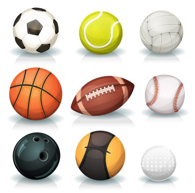 Sports Balls Set - Download Free Vector Art, Stock Graphics & Images