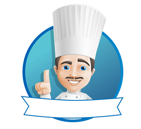 Male Chef Vector Character Preview
