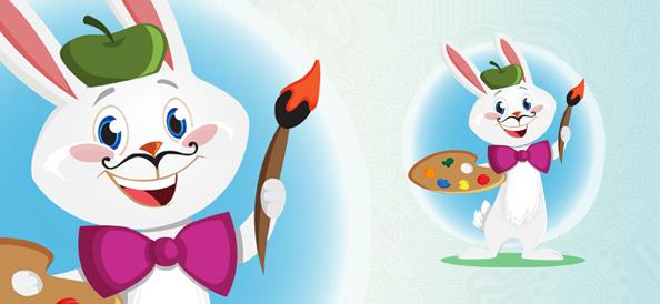 Vector Bunny Artist