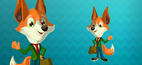Business Vector Fox