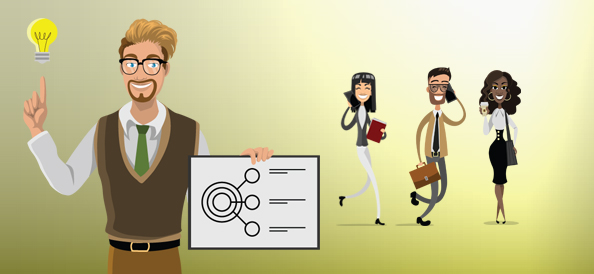 20 Free Vector Business Characters