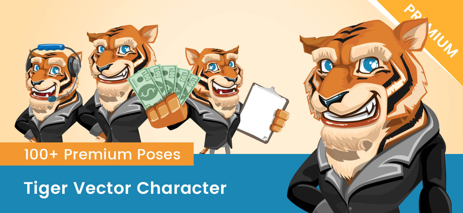 Tiger Vector Character