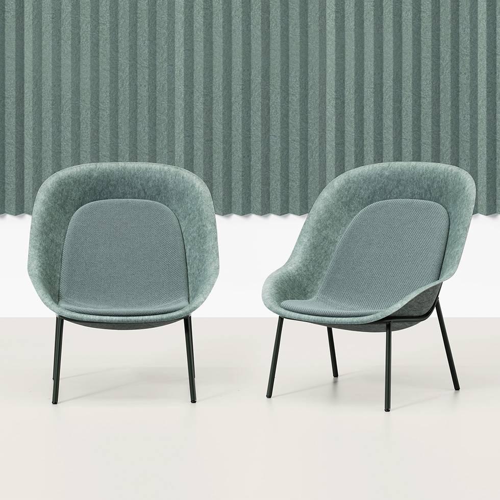 Swish De Vorm Nook Lounge Chair Workbrands Nook Lounge Chair Price Nook Pet Felt Lounge Chair furniture Nook Lounge Chair