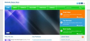 Colorful Website CSS Template