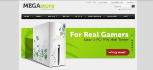 Free Ecommerce Website CSS Template for Software and Hardware