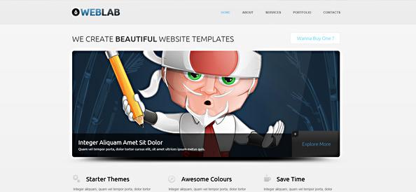 Free HTML5 Template – WebLab