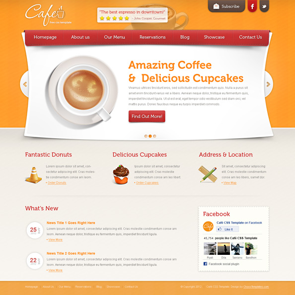 Restaurant Template Preview Big