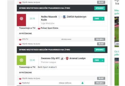 Meczyki.pl rezygnują z linków do pirackich transmisji sportowych, stawiają na newsy i społeczność