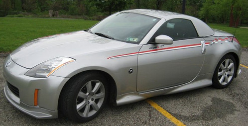 Smooth Line Hardtops NISSAN 350Z Removable Hardtop For Convertible ...