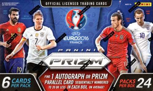 2016 PANINI PRIZM EUROPEAN CHAMPIONSHIP SOCCER  UEFA  Celebrate the excitement of the 2016 UEFA European Championship with Prizm