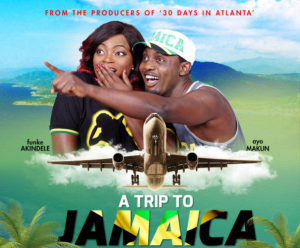 AY and Funke Akindele in A Trip to Jamaica