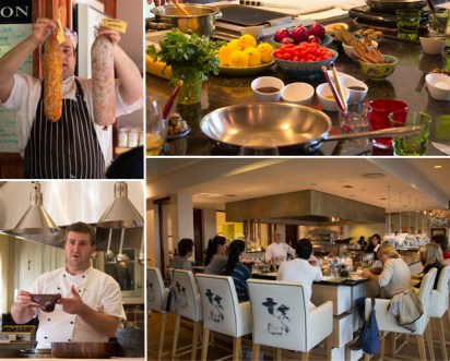 learning culinary skills at Cook Franschhoek
