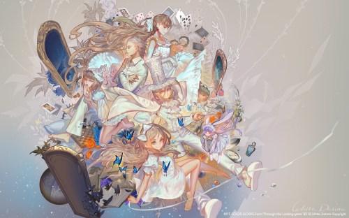 Medium Of Alice In Wonderland Wallpaper