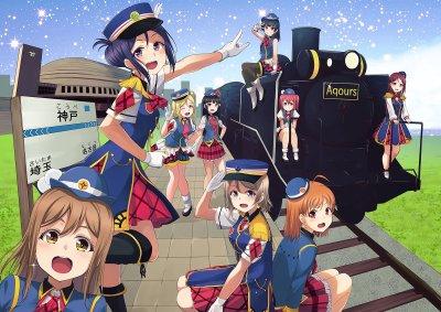 Aqours - Love Live! Sunshine!! - Image #2137816 - Zerochan Anime Image Board