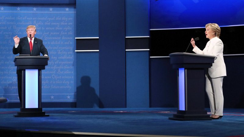 Large Of Who Won The Debate Tonight