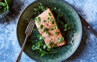 Pan-Roasted Salmon With Jalapeño Recipe - NYT Cooking