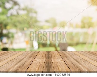 Wooden Board Empty Table Top On Image & Photo | Bigstock