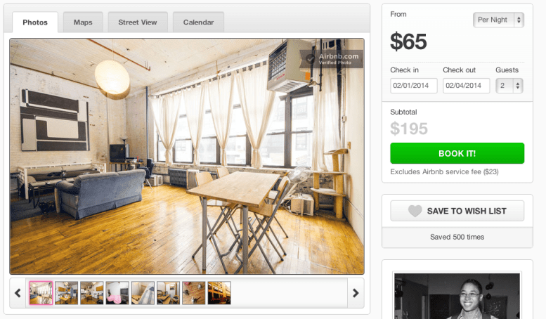 The company continued its scrappy business-building techniques. Channeling their design backgrounds, the founders launched an ambitious project to get its hosts to love the company. They visited all of their hosts in New York to personally stay with them, write reviews, and professionally photograph their places.
