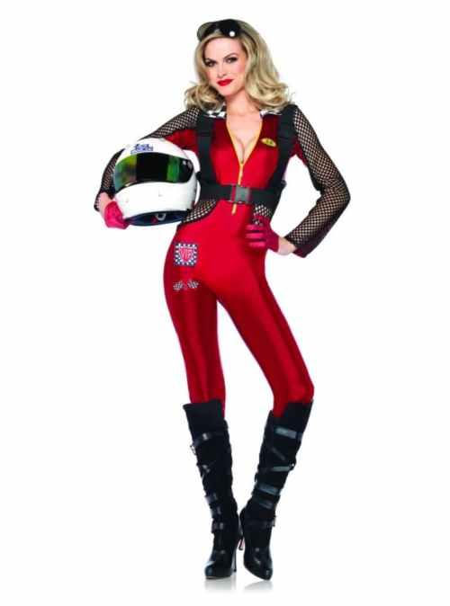 Medium Of Race Car Driver Costume