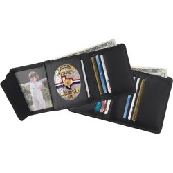 Howling Strong Tri F Compact Size Lear Badge Wallet Rfid What Size Are Wallet Photos Cvs What Size Are Wallet Photos Cm