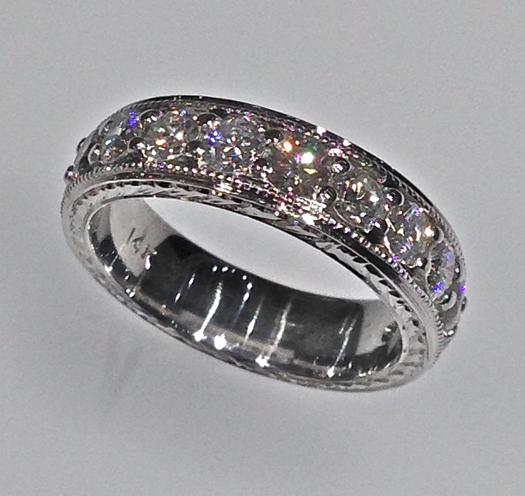 wedding bands 1 1 neil lane wedding bands craft revival jewelers diamond wedding band antique edding