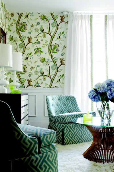 Kirkwood wallpaper by Thibaut — COOMBS DESIGN
