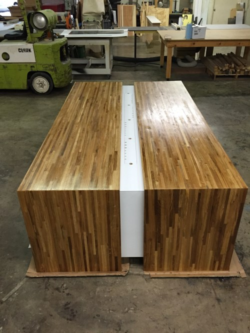 Medium Of Butcher Block Desk