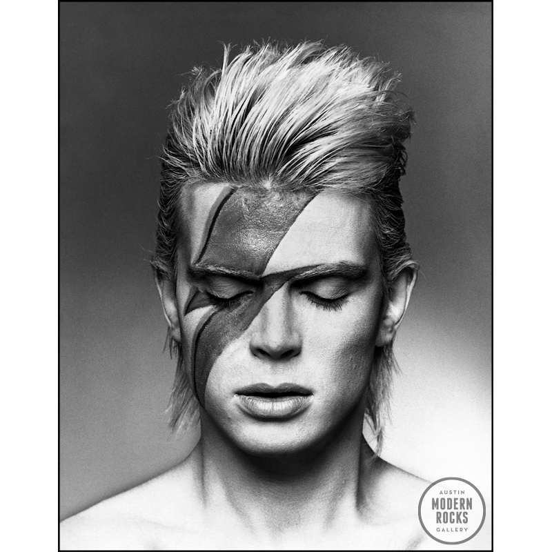 Billy Idol as Ziggy Stardust by Allan Ballard     Buy Signed Limited     Billy Idol as Ziggy Stardust by Allan Ballard