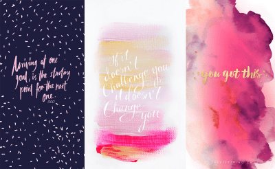 Get It, Girl: 6 iPhone Backgrounds to Motivate You — Michelle Locke