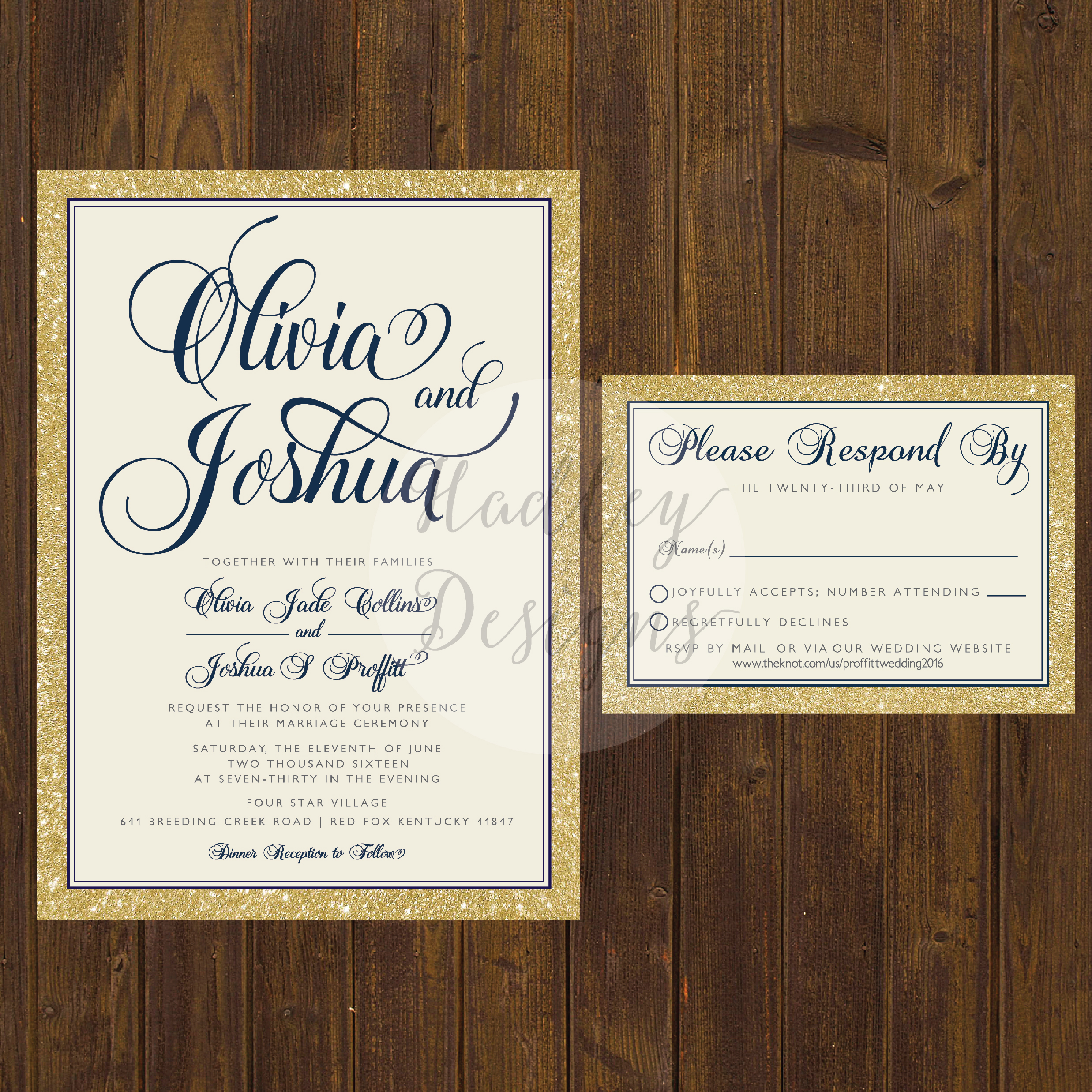 Fullsize Of Elegant Wedding Invitations