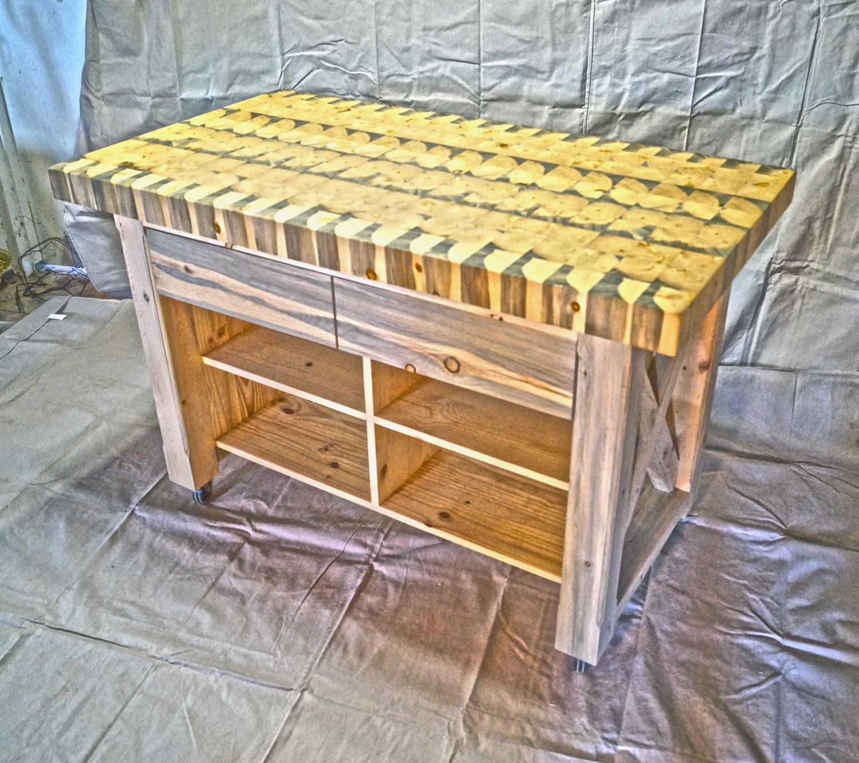 butcher block table top custom order custom kitchen tables Colorado Tables Custom Kitchen Islands