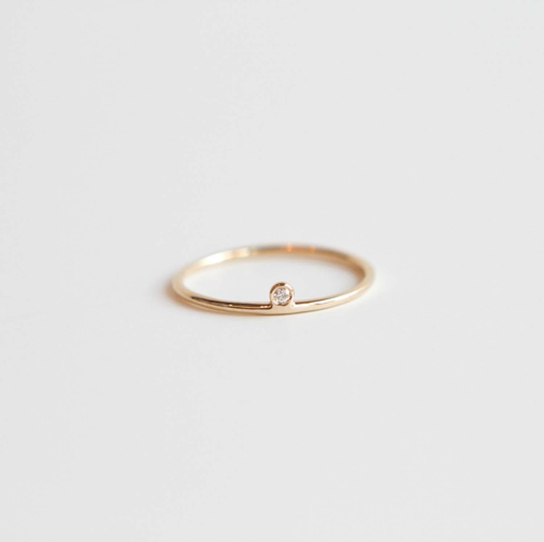 Fullsize Of Minimalist Engagement Rings