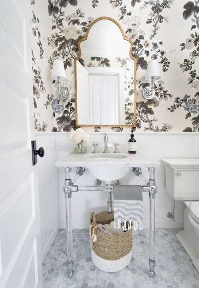 One Room Challenge Fall 2017: Powder Room Reveal! — Laura Design Company