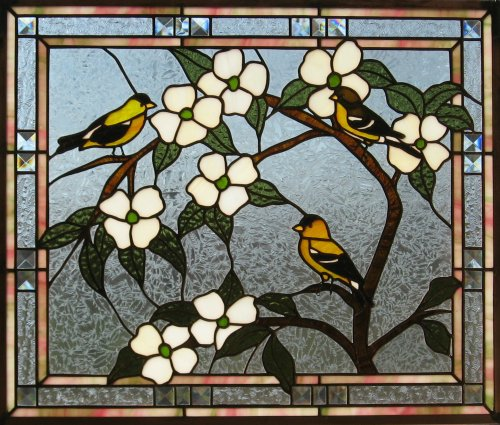 Medium Of Stained Glass Window Film