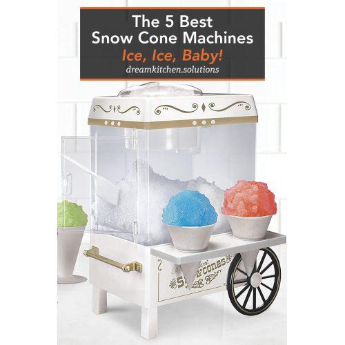 Medium Crop Of Snow Cone Machine
