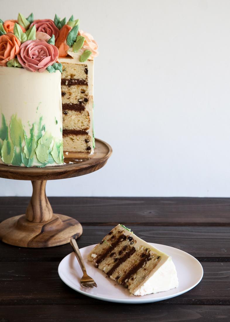 Dark Cocoa Cannoli Cake Cocoa Cannoli Cake Style Ca Cannoli Cake Recipe Snappy Gourmet Cannoli Cake Recipe Italian nice food Cannoli Cake Recipe