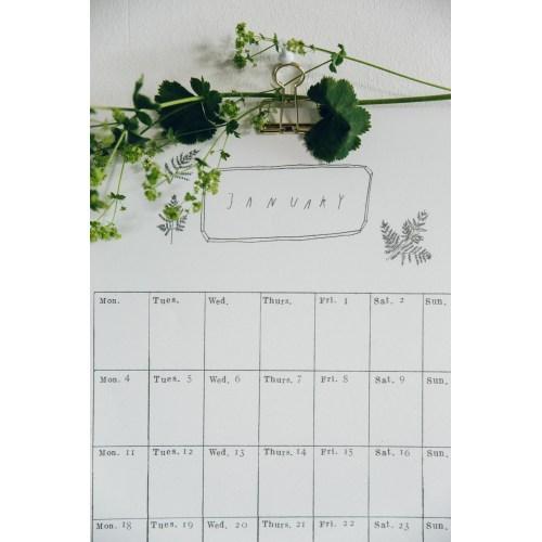 Medium Crop Of Digital Wall Calendar
