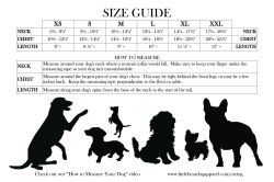 Aweinspiring Size Guide Size Guide Little Bear Dog Apparel Answers Yahooquestionindex Qid 20081208192300aamruds Normal Poster Size Cm