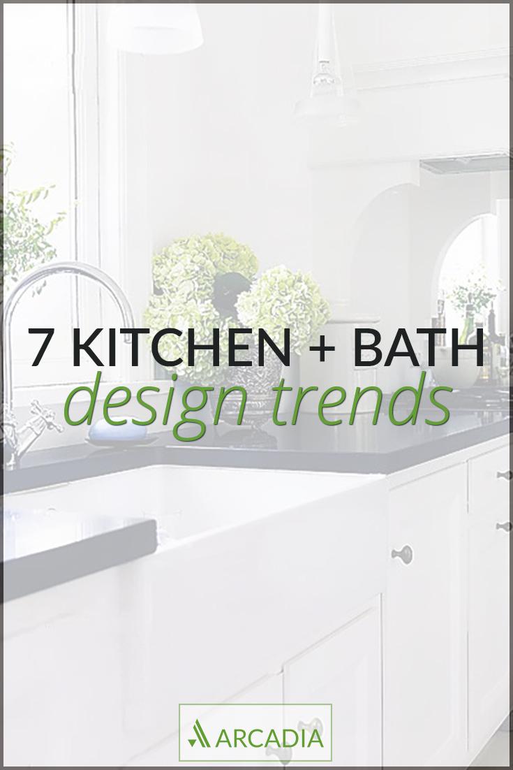 7 kitchen and bath design trends kitchen and bath design Arcadia PDX 7 kitchen and bath design trends