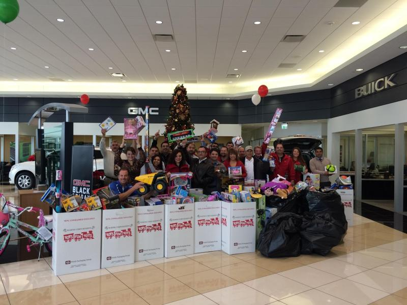 Beck   Masten Buick GMC North   Help Beck   Masten Buick GMC North     The 2015 Beck   Masten North Toys for Tots Houston Suburban toy drive has  officially begun  We ve been a proud supporter of the Marines  Toys for  Tots